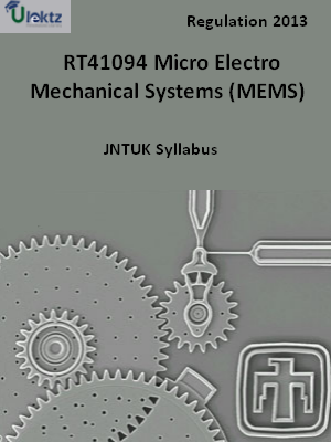Micro Electro Mechanical Systems (MEMS) - Syllabus