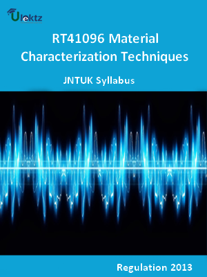 Material Characterization Techniques - Syllabus
