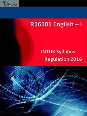 English – I - Syllabus