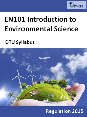 Introduction to Environmental Science - Syllabus