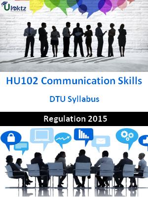 Communication Skills - Syllabus