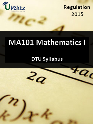 Mathematics I - Syllabus