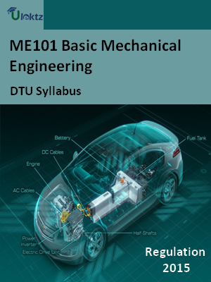 Basic Mechanical Engineering - Syllabus