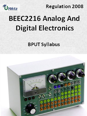 Analog And Digital Electronics - Syllabus