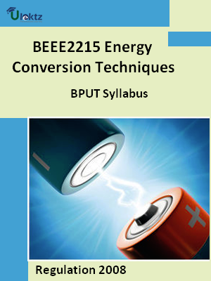 Energy Conversion Techniques - Syllabus