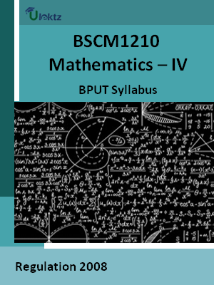 Mathematics – IV - Syllabus