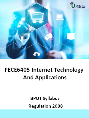 Internet Technology And Applications - Syllabus