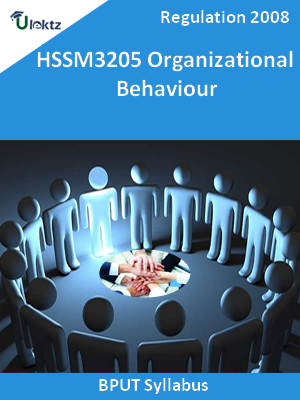 Organizational Behaviour - Syllabus