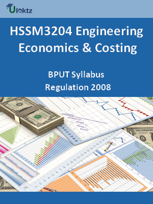Engineering Economics & Costing - Syllabus