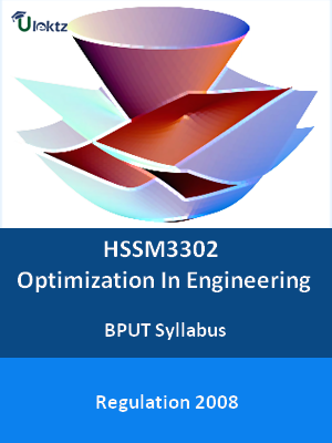 Optimization In Engineering - Syllabus