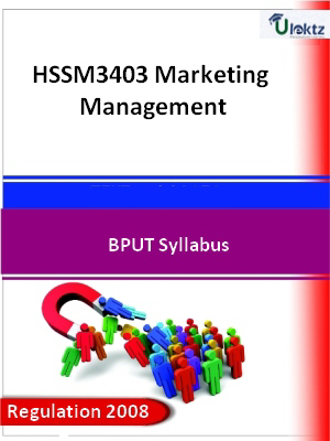 Marketing Management - Syllabus