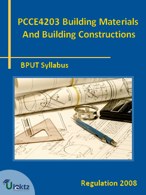 Building Materials And Building Constructions - Syllabus