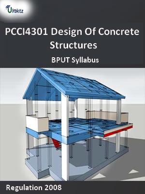 Design Of Concrete Structures - Syllabus