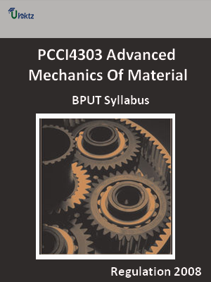 Advanced Mechanics Of Material - Syllabus