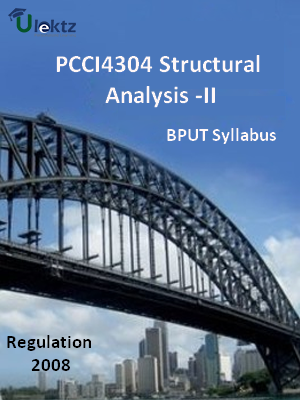 Structural Analysis -II - Syllabus