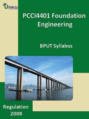 Foundation Engineering - Syllabus