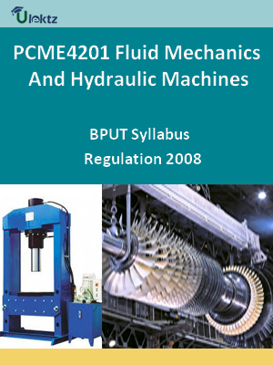 Fluid Mechanics And Hydraulic Machines - Syllabus