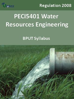 Water Resources Engineering - Syllabus