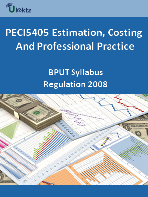Estimation, Costing And Professional Practice  - Syllabus