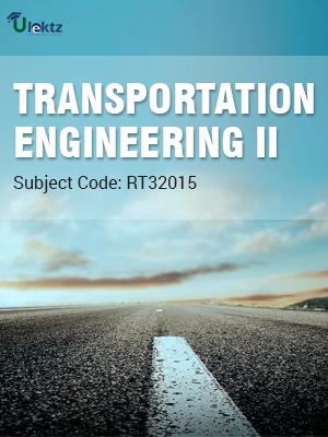 Transportation Engineering – II