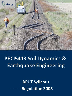 Soil Dynamics & Earthquake Engineering - Syllabus
