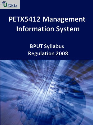Management Information System - Syllabus