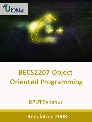 Object Oriented Programming - Syllabus