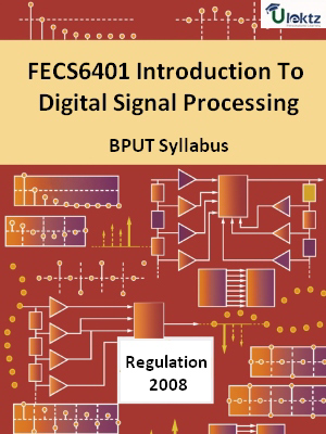 Introduction To Digital Signal Processing - Syllabus