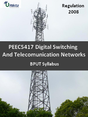 Digital Switching And Telecomunication Networks - Syllabus