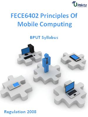 Principles Of Mobile Computing - Syllabus
