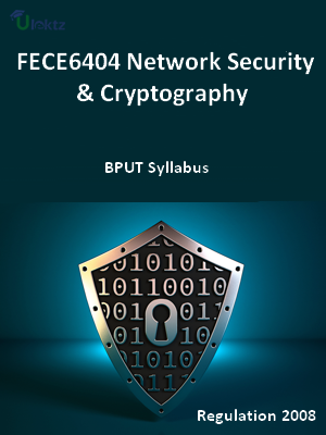 Network Security And Cryptography - Syllabus