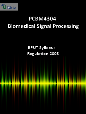 Biomedical Signal Processing - Syllabus