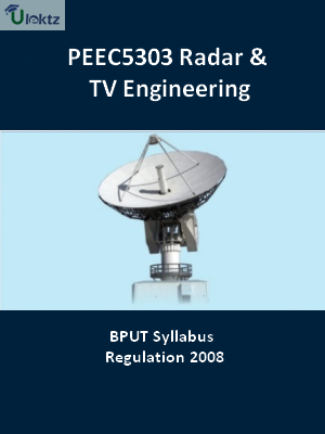 Radar And TV Engineering - Syllabus