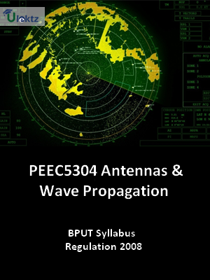 Antennas & Wave Propagation - Syllabus