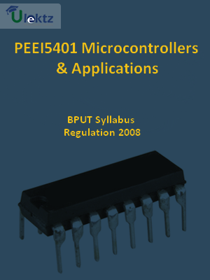 Microcontrollers And Applications - Syllabus