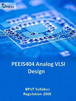 Analog VLSI Design - Syllabus