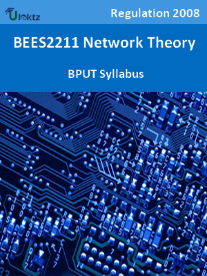 Network Theory - Syllabus