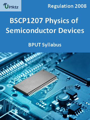 Physics of Semiconductor Devices - Syllabus