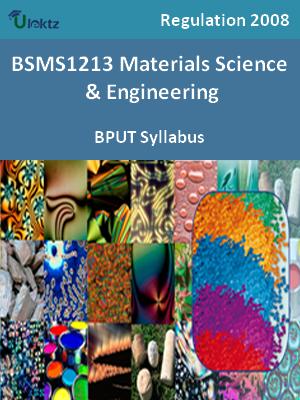 Materials Science & Engineering - Syllabus