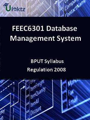 Database Management System - Syllabus