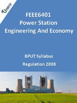 Power Station Engineering And Economy - Syllabus