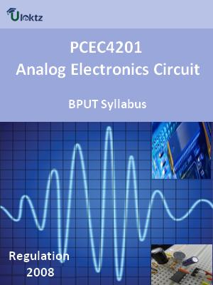 Analog Electronics Circuit - Syllabus