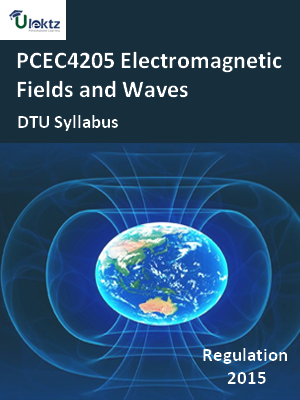 Electromagnetic Fields and Waves - Syllabus