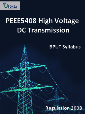 High Voltage DC Transmission - Syllabus