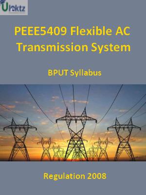 Flexible AC Transmission System - Syllabus