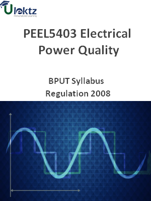 Electrical Power Quality - Syllabus