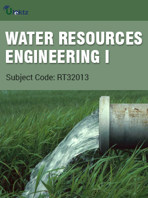 Water Resources Engineering – I