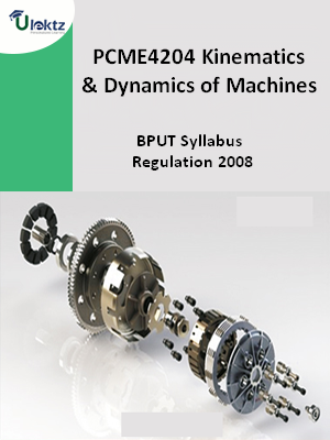 Kinematics and Dynamics of Machines - Syllabus