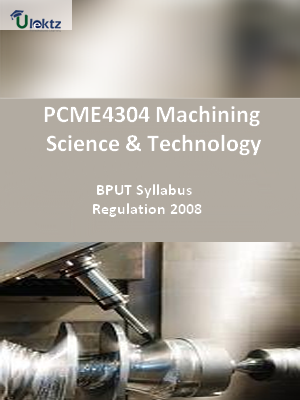Machining Science & Technology - Syllabus
