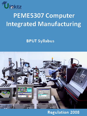 Computer Integrated Manufacturing - Syllabus